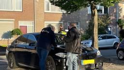 Er werd een BMW in beslag genomen (foto: de politie).
