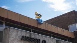 Het beeld staat op een dansschool aan de Nieuwlandstraat. Foto: Kaapstad