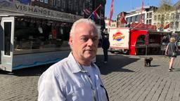 Standwerker Paul Bol op Bossche markt