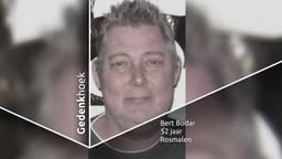 Bert Bodar wordt onder anderen door zijn vrouw ontzettend gemist.