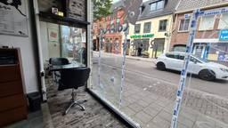 In juni vlogen de kogels bij een kapperszaak in Tilburg door het raam.