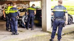 Politie lost schoten bij aanhouding van verdachte steekpartij Albert Heijn