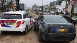 De achtervolging eindigde in Geldrop (foto: politie Eindhoven).