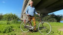 Gert-Jan van Rooij wil dat de nieuwe Maasbrug een fietspad krijgt