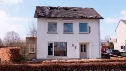 De brand brak uit op zolder (foto: Omroep Brabant).