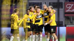 NAC-aanvoerder Nick Olij na de 1-0 winst op Jong AZ.
