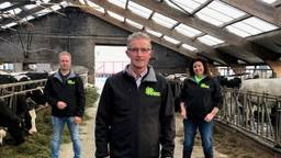 Wilbert van Lanen, Wim Jaspers en Monique Flipsen, kandidaat-Kamerleden voor BoerBurgerBeweging (BBB).