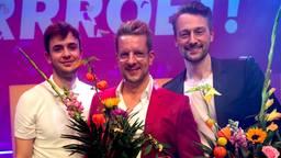 Alex Klaasen (midden) won een Poelifinario (foto: Jaap Reedijk).