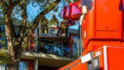 Er is brand ontstaan in de keuken van een appartement aan het Magdalenahof in Geldrop.