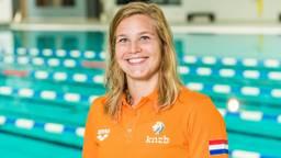 Zwemster Maud van der Meer uit Uden (foto: ANP).