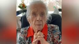 Tante Riek Hendriks-Uijen (foto: Mariëtte Uijen).