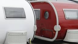 Archieffoto (niet de betreffende caravan).