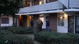 Onderzoek bij de flat in Den Bosch.