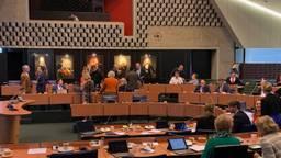 De statenzaal in het provinciehuis (archieffoto: Jan de Vries).