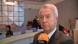 Burgemeester Peter Noordanus.