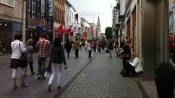 Winkelstraat in Breda.