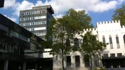 Het gemeentehuis van Tilburg. (Archieffoto)