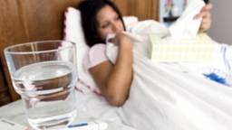Er heerst een griepepidemie. (Foto: ANP)