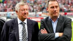 René Meulensteen (rechts) met zijn voormalige baas Alex Ferguson (foto: Pics-United)