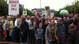 In de afgelopen jaren is vaak geprotesteerd tegen de winning van schaliegas (foto: Alice van de Plas).