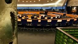 De vergaderzaal van Provinciale Staten in het provinciehuis in Den Bosch (foto: archief).