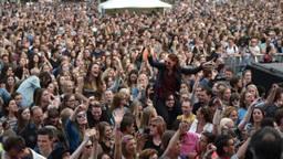 Veel publiek (foto: Henk van Esch)