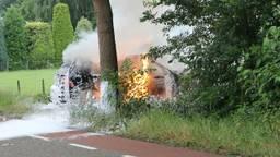 Een stukadoor ontdekte de brand (Foto: AS Media)