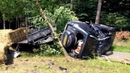 Ongeluk bij Molenschot N282 (Foto: Jeroen Stuve)