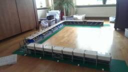 Man bouwt stadion RKC Waalwijk na met Lego