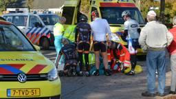 Wielrenner zwaargewond in Galder. (Foto: Perry Roovers / SQ Vision)