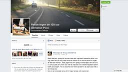 De petitie op Facebook