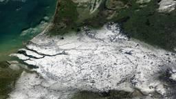 Brabant verstopt (bron: NASA Worldwide)