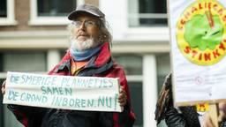 Er is veel tegenstand tegen het boren naar schaliegas (foto: ANP)