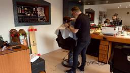 Victor van Zutven is erg succesvol met zijn barbershop