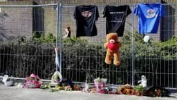 Een gedenkhoekje ingericht voor John Verhoeven (foto: Bart Meesters/Meesters Multimedia)