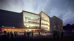 Het plan was dat dit het nieuwe theater zou worden. Foto: Gemeente Den Bosch
