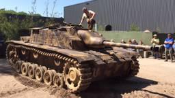 Het is de eerste keer dat de Sturmgeschütz III te zien is bij Militracks in Overloon.
