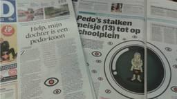 De kranten pakken uit met het verhaal.
