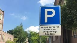 Wachten op parkeervergunning duurt jaren in Den Bosch (foto: Mattijs Smit)