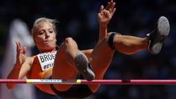 Nadine Broersen kwam bij het hoogspringen over een hoogte van 1,86 meter. (Foto: ANP).