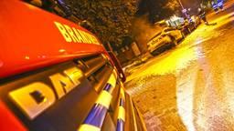 De BMW brandde totaal uit (foto: Gabor Heeres/SQ Vision Mediaprodukties)