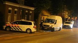 Technisch onderzoek in Kerkstraat Boekel (foto: AS Media).