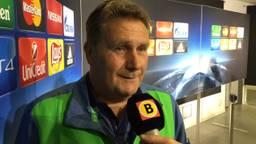 Ton Lokhoff na wedstrijd Wolfsburg-PSV (foto: Paul Post).