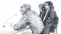 Jos de G. tijdens de rechtszaak (archieffoto).