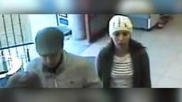 De twee verdachten in beeld (foto: Politie)