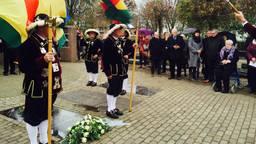 Herdenking Floris van der Putt in Lieshout (foto: Tonnie Vossen).