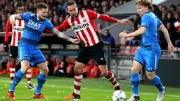 Luuk de Jong scoorde twee keer (foto: Pics United)