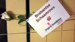 De Brabantse Schaamroos is de prijs voor het meest asociale beleid in Brabant.