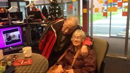 Het echtpaar Van Zandvoort in de studio in Son. (Foto: Pepijn Nagtzaam)