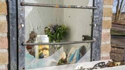 De gesloopte kapel in Berghem waar het Mariabeeldje ook in stond. Foto: Maickel Keijzers/Hendriks Multimedia